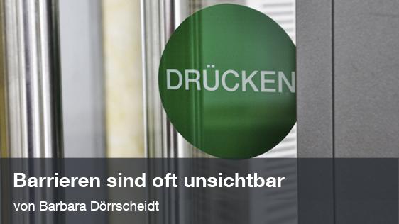 Barrierefreiheit; Foto: Dörrscheidt