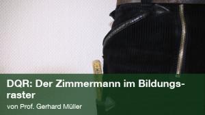 Der Zimmermann im Bildungsraster; Foto: photocase