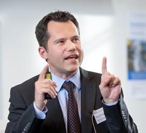Prof. Pascal Berberat, TUM (Foto: Andreas Heddergott)