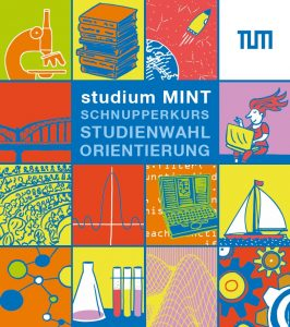 "Poster ""studium MINT"" (Grafik: Weiss, Briemle)"
