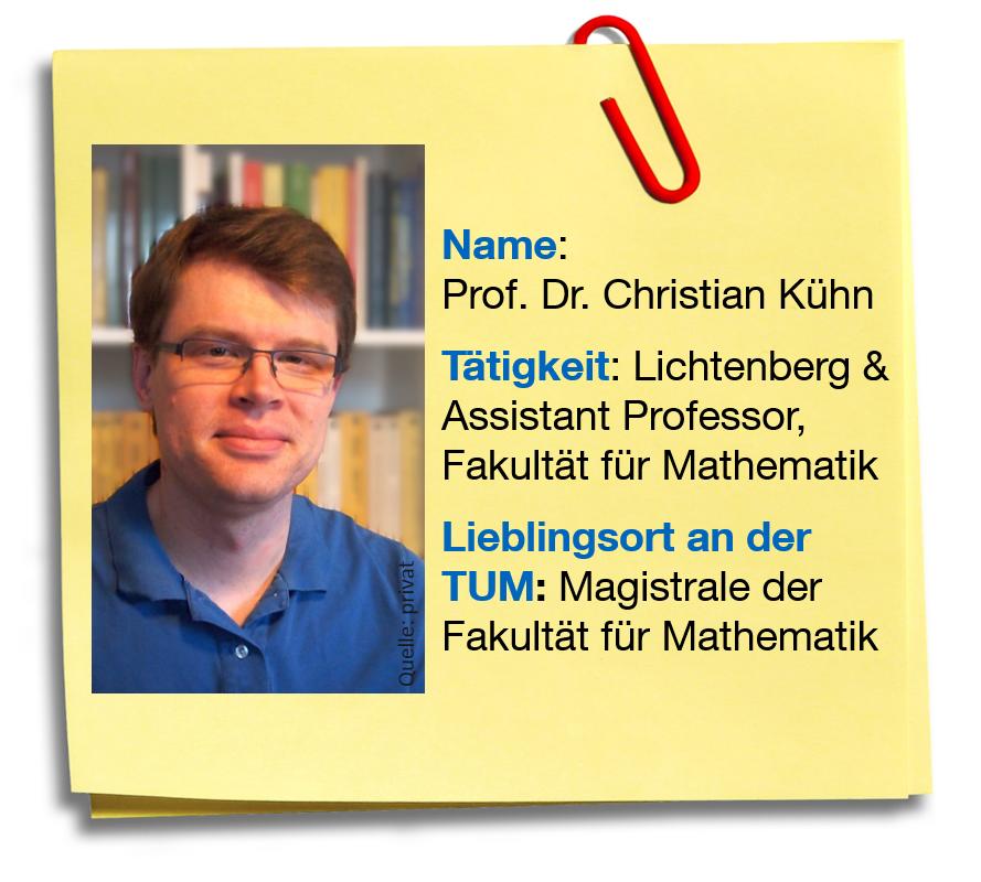 Steckbrief Prof. Dr. Christian Kühn