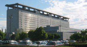 Das bekannteste Großprojekt des Büros Eichberg: Das Münchner Klinikum Großhadern (Foto: Wikipedia)