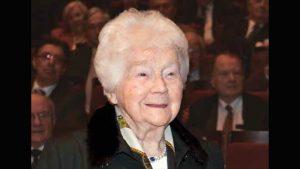 Anneliese Eichberg geboren am 1. Mai 1910 (Foto: TUM Fakultät für Architektur)