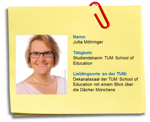 Steckbrief: Nachgefragt bei Dr. Jutta Möhringer