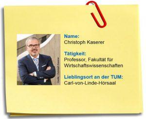 Steckbrief Christoph Kaserer