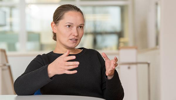 Prof. Julia Herzen (Bild: Astrid Eckert/ TUM)