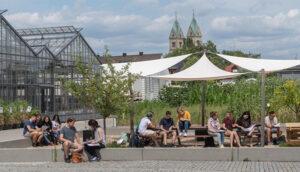 Studierende am TUM Campus Straubing (Bild: Andreas Heddergott/ TUM)
